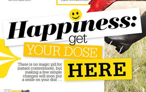 Happiness:get your dose here