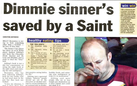Dimmie Sinner's saved by a saint