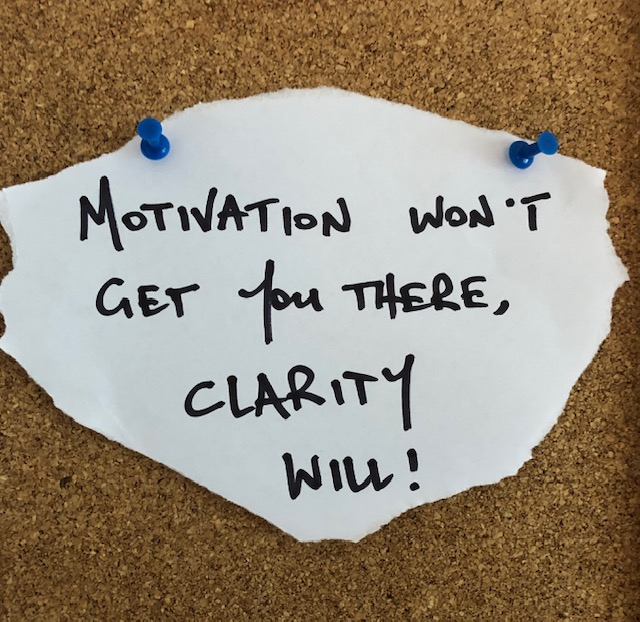 Forget motivation… What do you want?